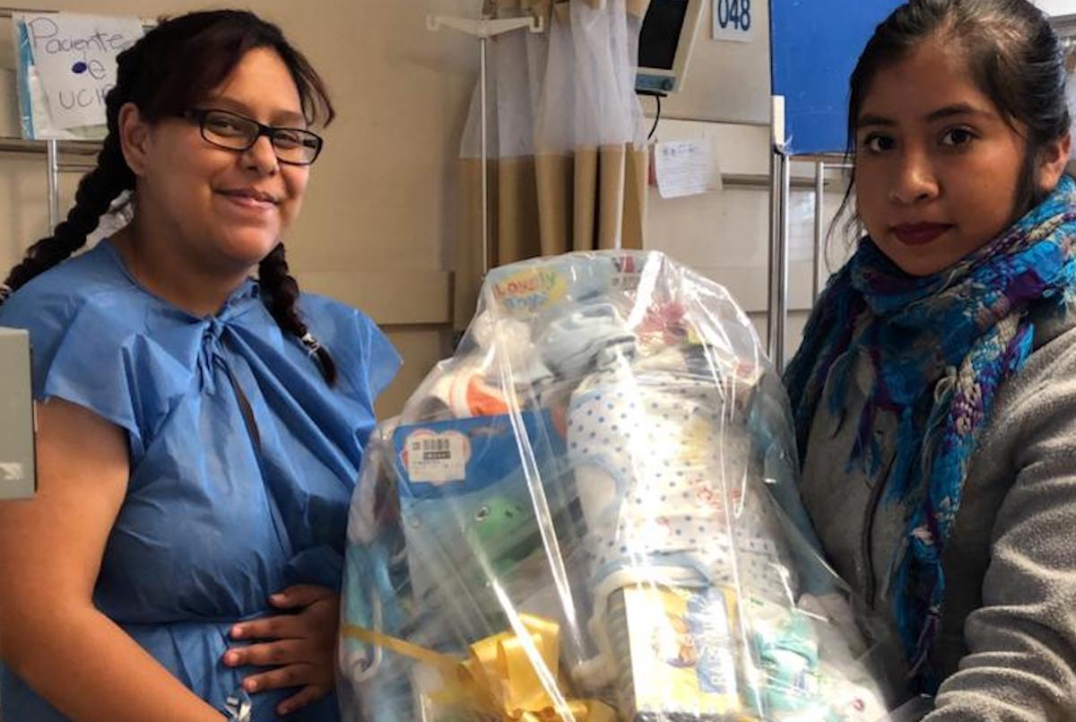 Canastillas de María, en apoyo a recién nacidos.