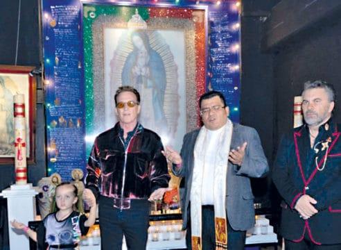 La Virgen de Guadalupe, la inspiración de los artistas del Auditorio