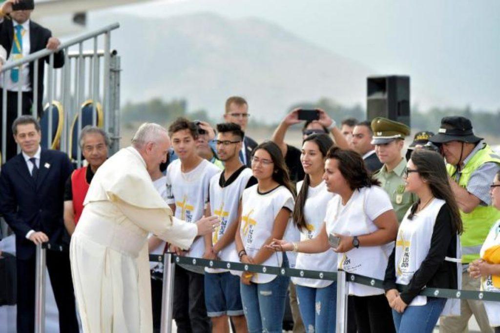 Francisco se acerca a los jóvenes para renovar la Iglesia Foto Vatican Media