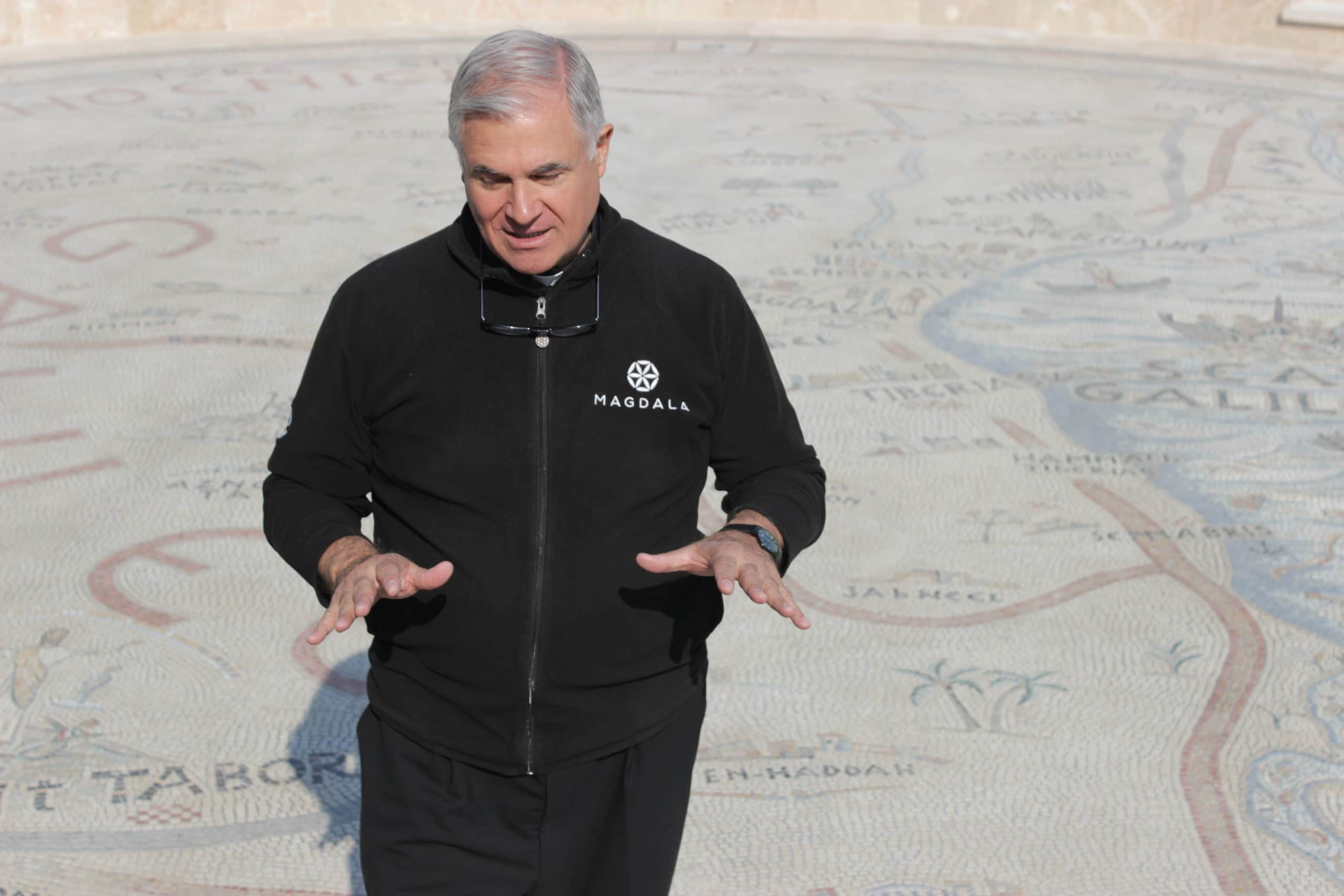 P. Juan Solana explica el Mapa de Galilea