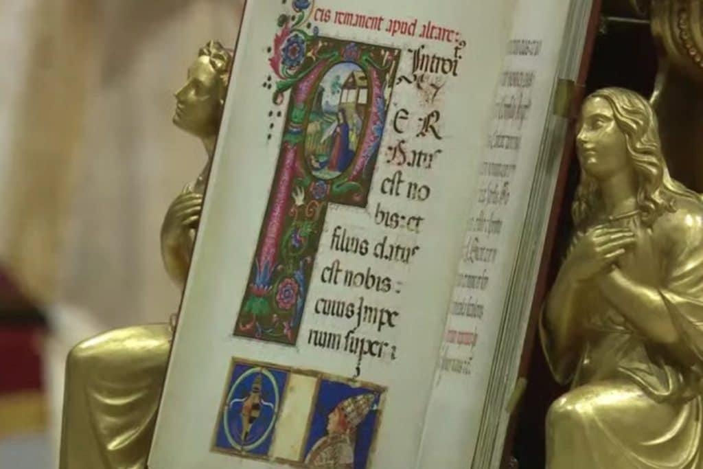 Misa de Nochebuena del Papa Francisco. Foto: Vatican Media