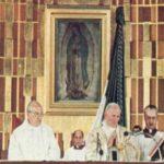 La Virgen de Guadalupe y san Juan Pablo II