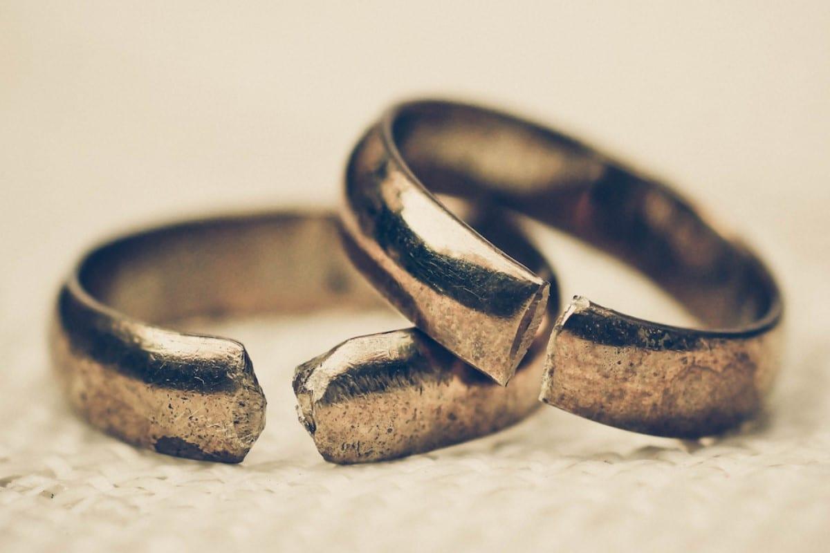 Aunque el divorcio por la Iglesia no existe, un Matrimonio puede no funcionar. Foto Especial