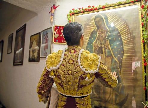 La Virgen de Guadalupe, protectora de los toreros