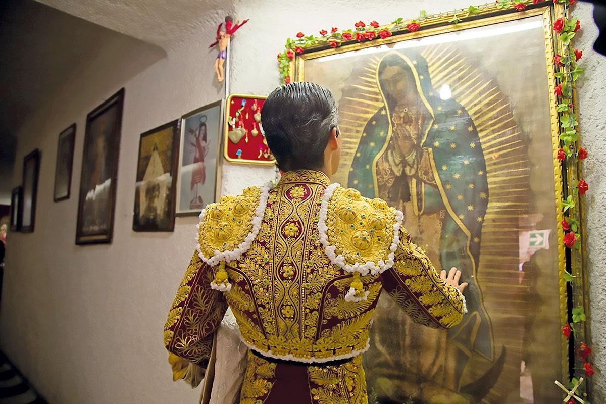 Virgen de Guadalupe, valentía de los toreros. Foto: María Langarica