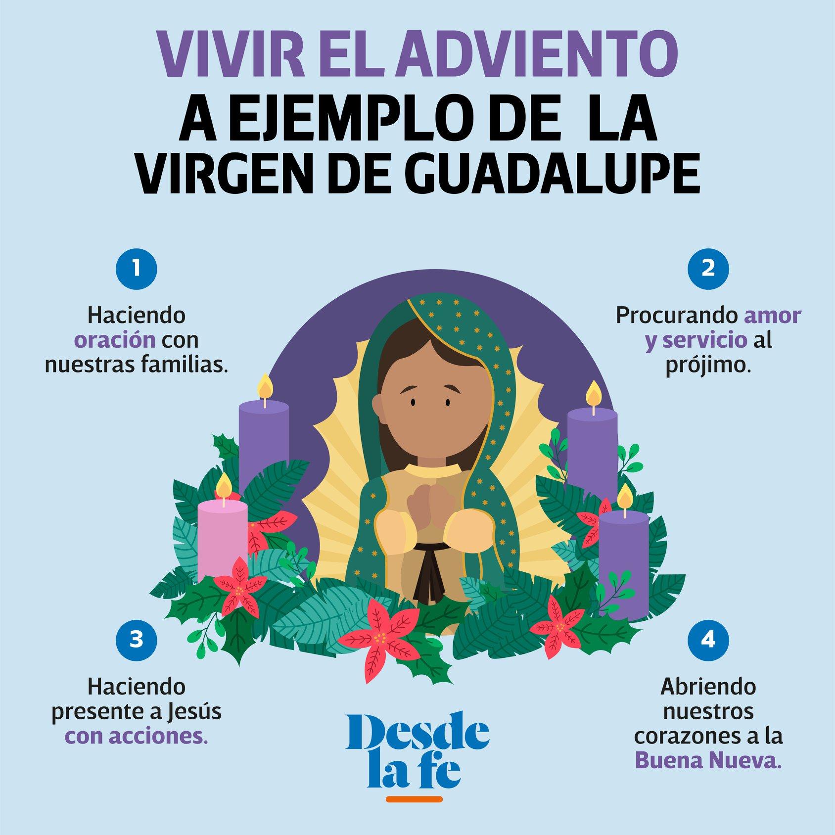 Adviento a ejemplo de la Virgen de Guadalupe.