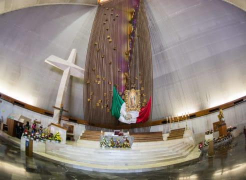 Una Basílica de Guadalupe, pero en Monterrey