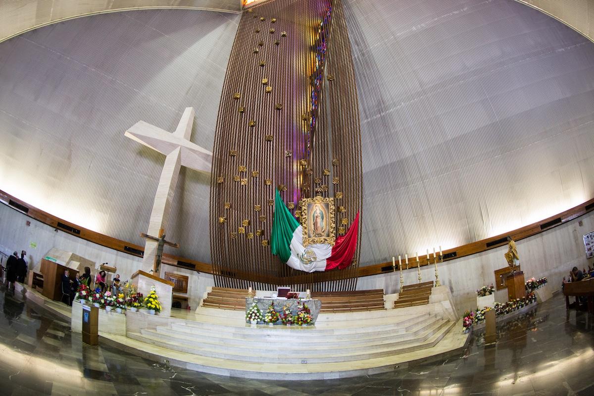 La Basílica de Guadalupe en Monterrey. Foto: María Langarica