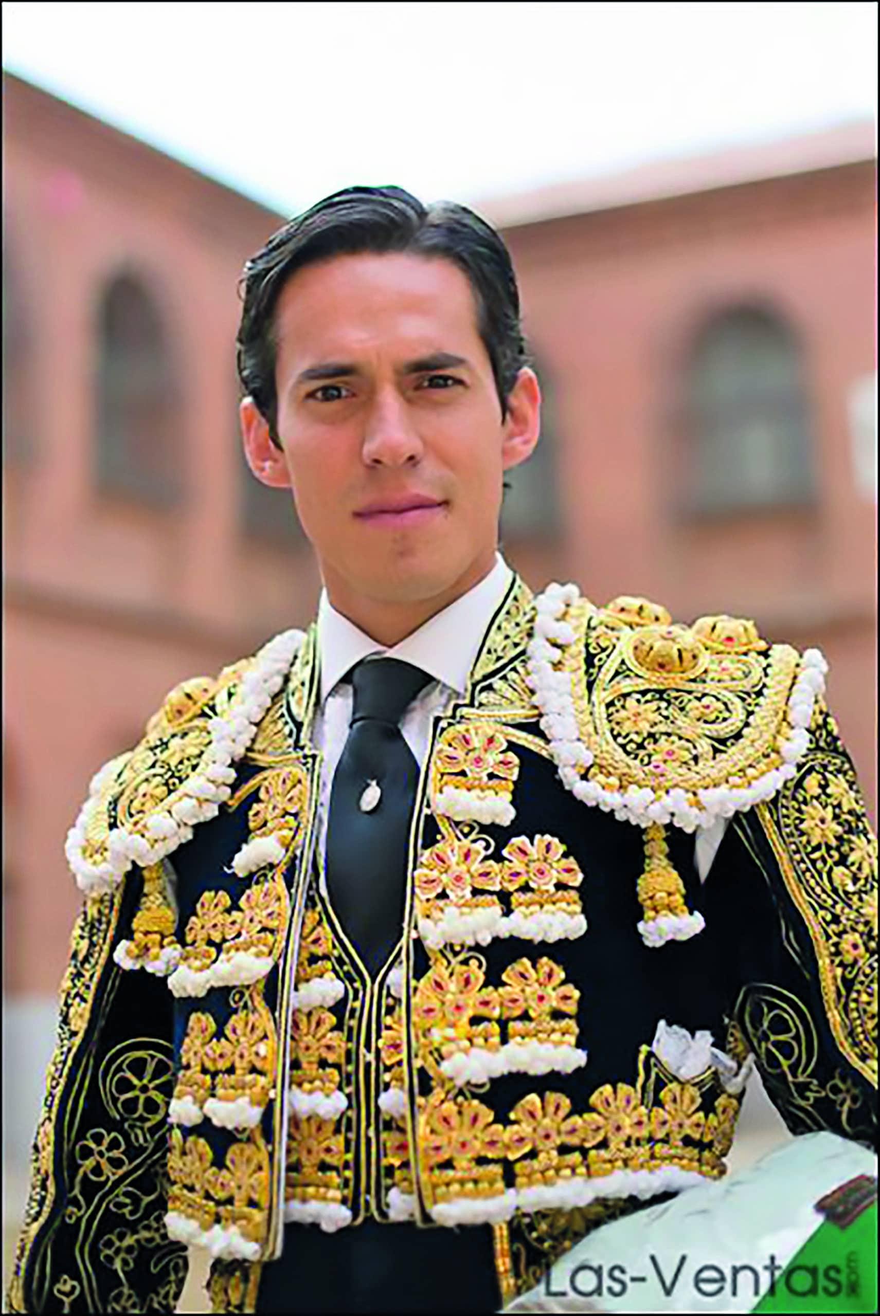 Diego Silveti, torero. Foto: Cortesía