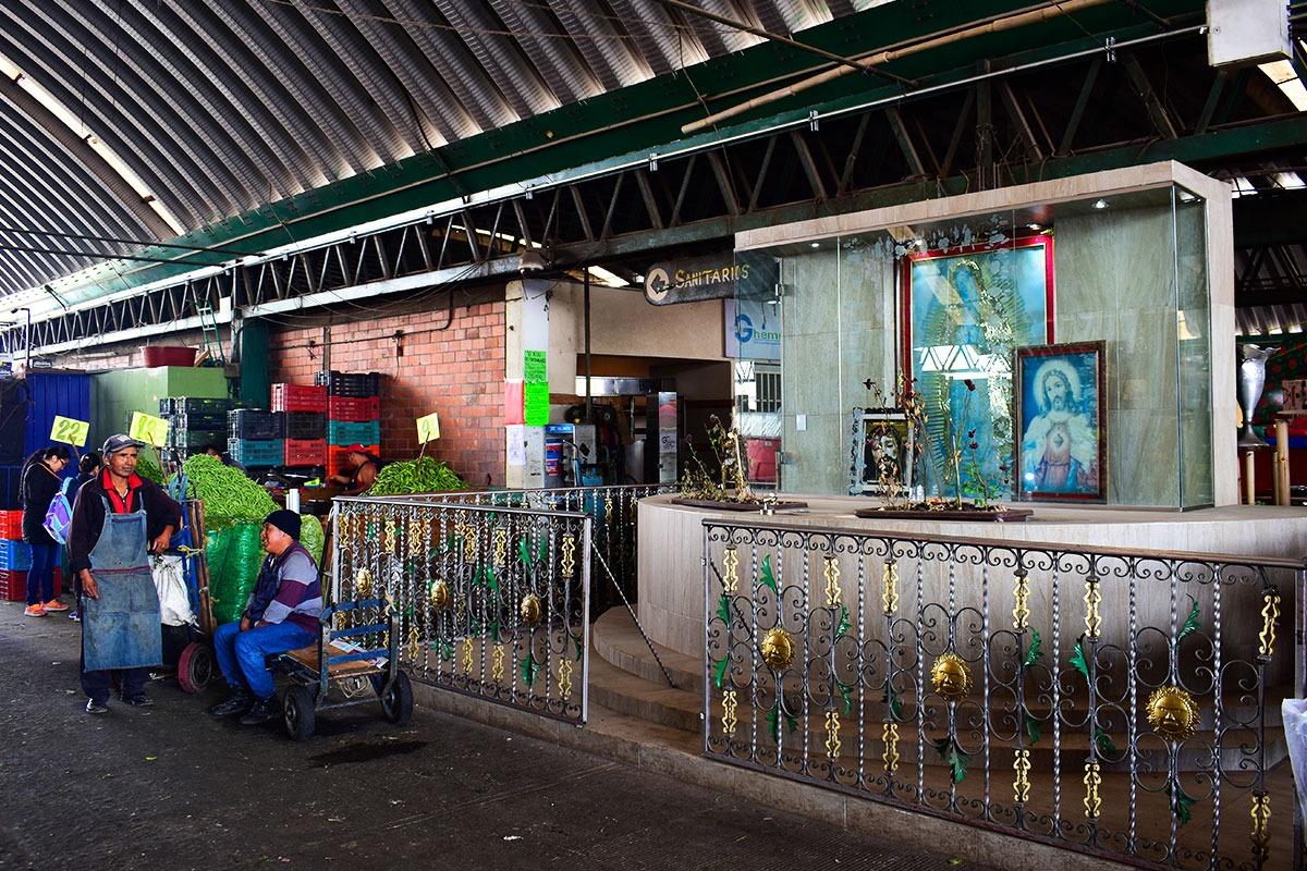 La Central de Abasto. Foto: Ricardo Sánchez