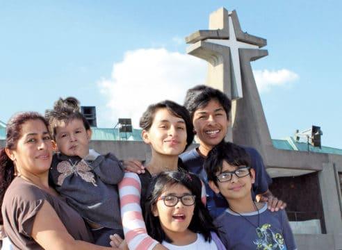 Una cadena de oración a la Virgen de Guadalupe salvó a la pequeña Ale