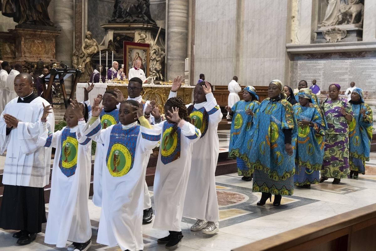 La comunidad del Congo. Foto: L'Osservatore Romano