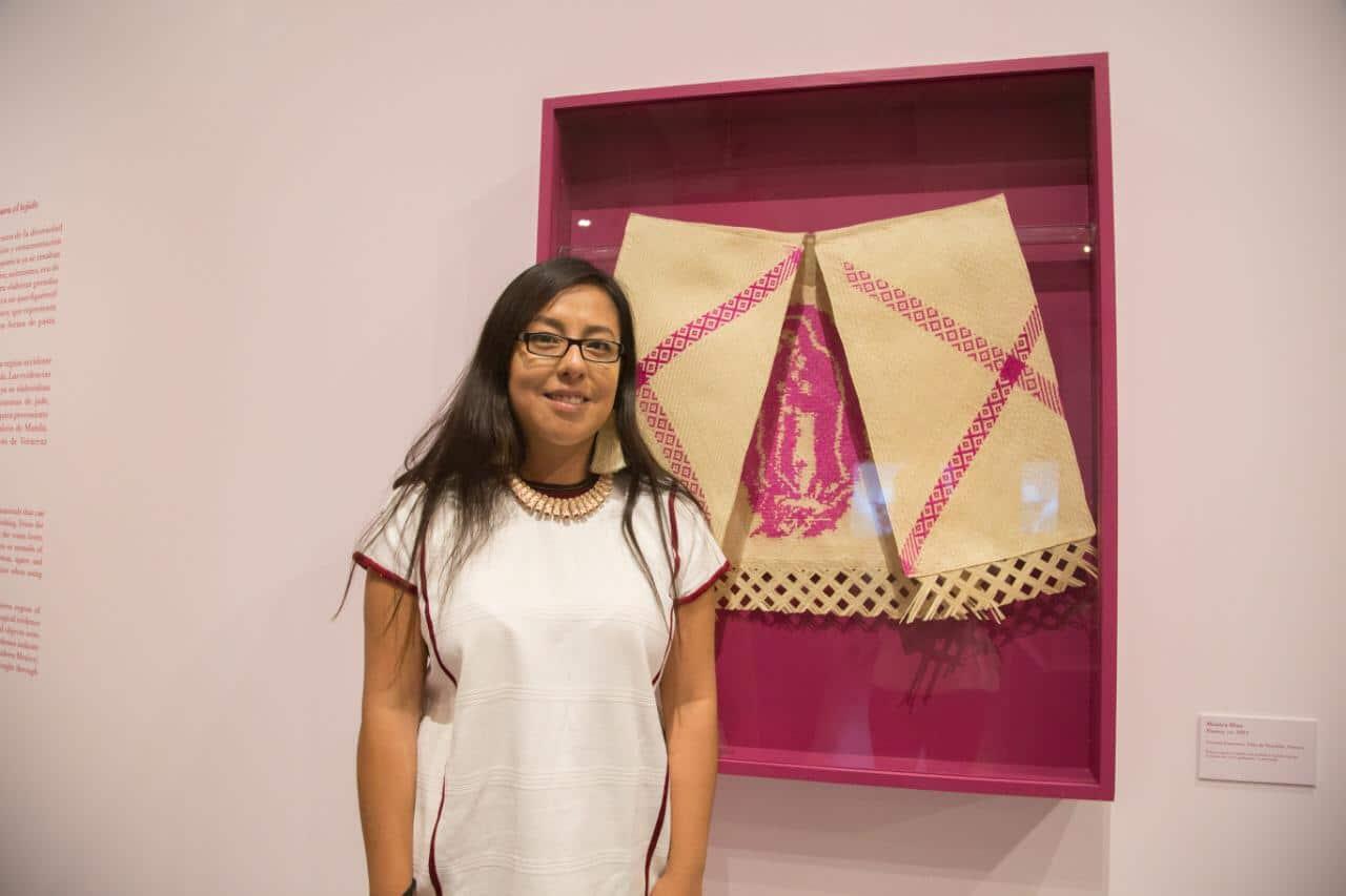 Mónica Díaz, tejedora de palma de Guadalajara. Foto: María Langarica