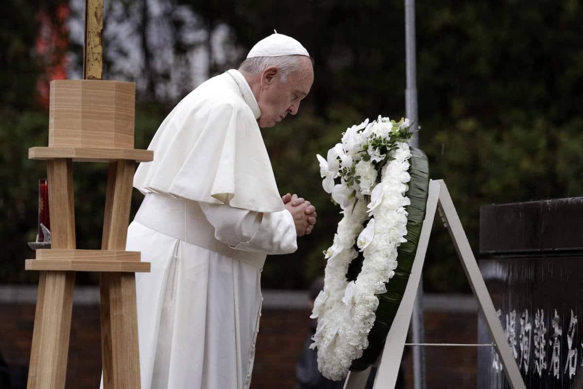 El Papa Francisco en Japón. Foto: L'Osservatore Romano