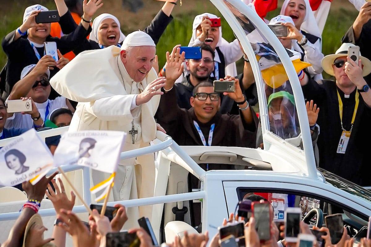 El Papa Francisco en la Jornada Mundial de la Juventud 2019, en Panamá. Foto: Isaac Gutiérrez/JMJ