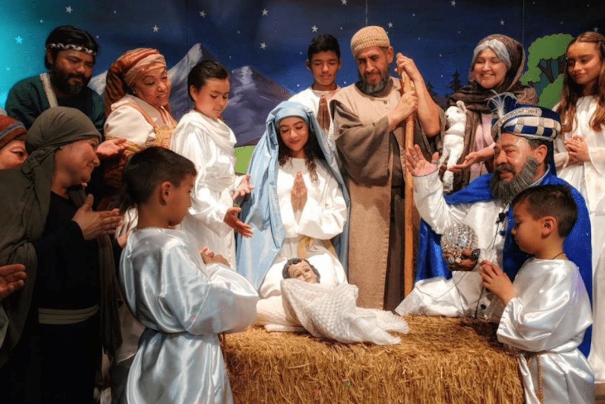 Las pastorelas son una tradición de la época navideña.