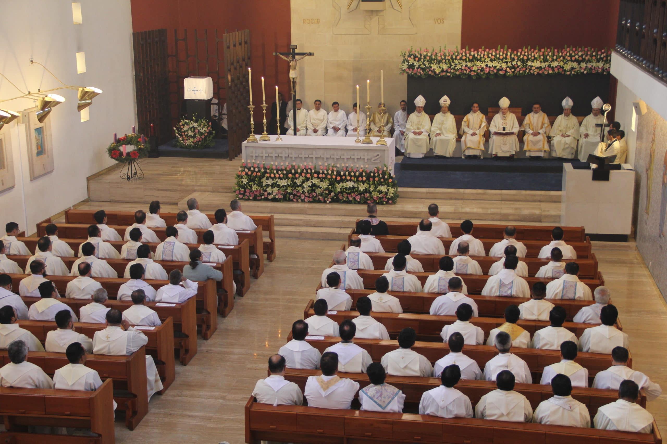 Misa en el Seminario Conciliar