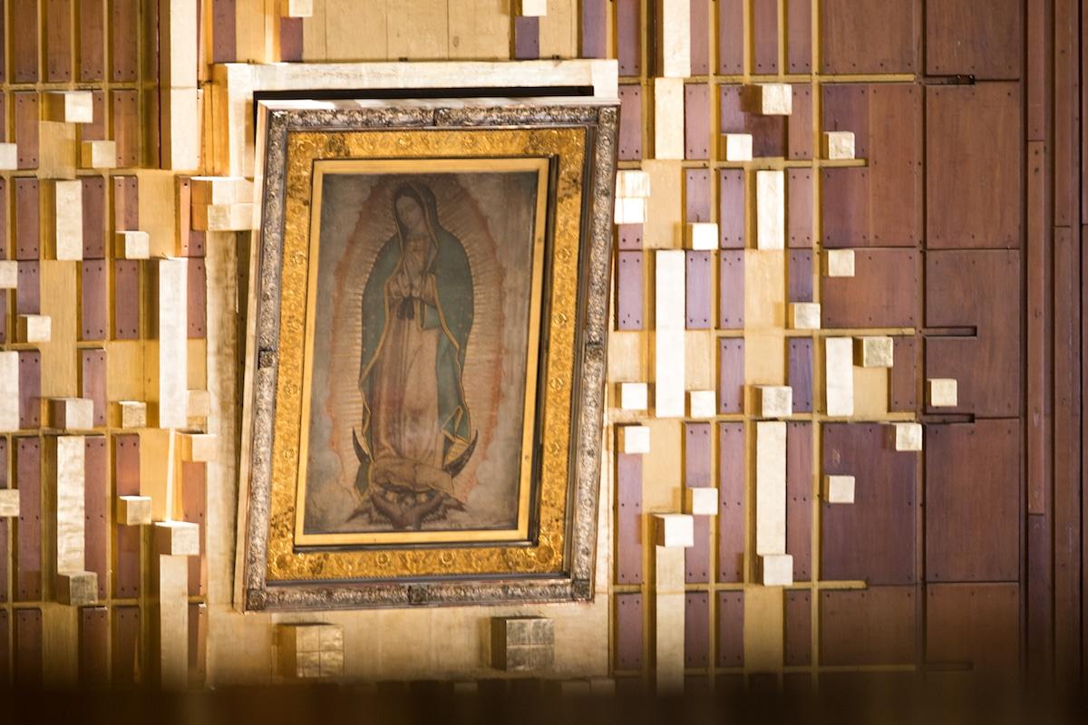 Tilma de la Virgen de Guadalupe. Foto: María Langarica