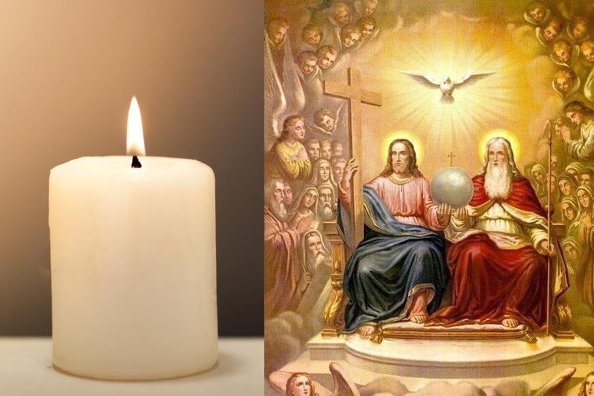 Muchos hogares creyentes acostumbran encender una vela el primero de mes en honor a la Divina Providencia.