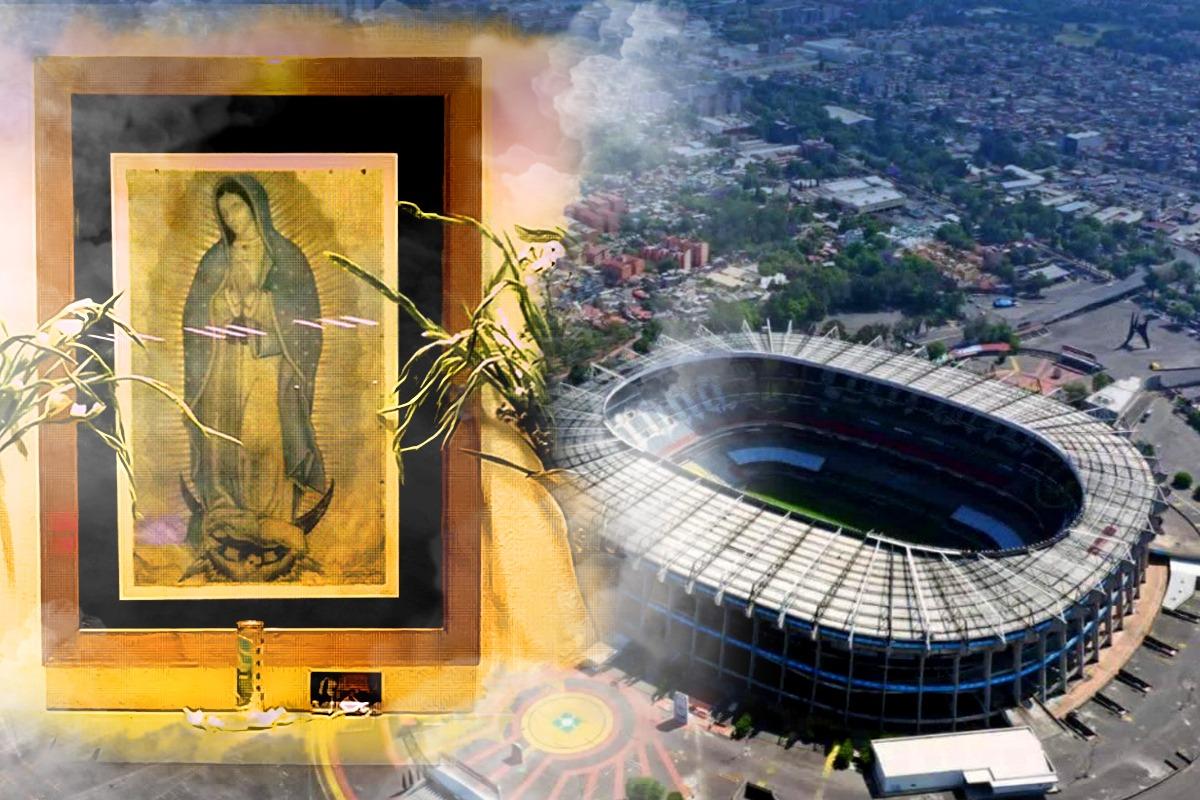La Virgen del Estadio Azteca