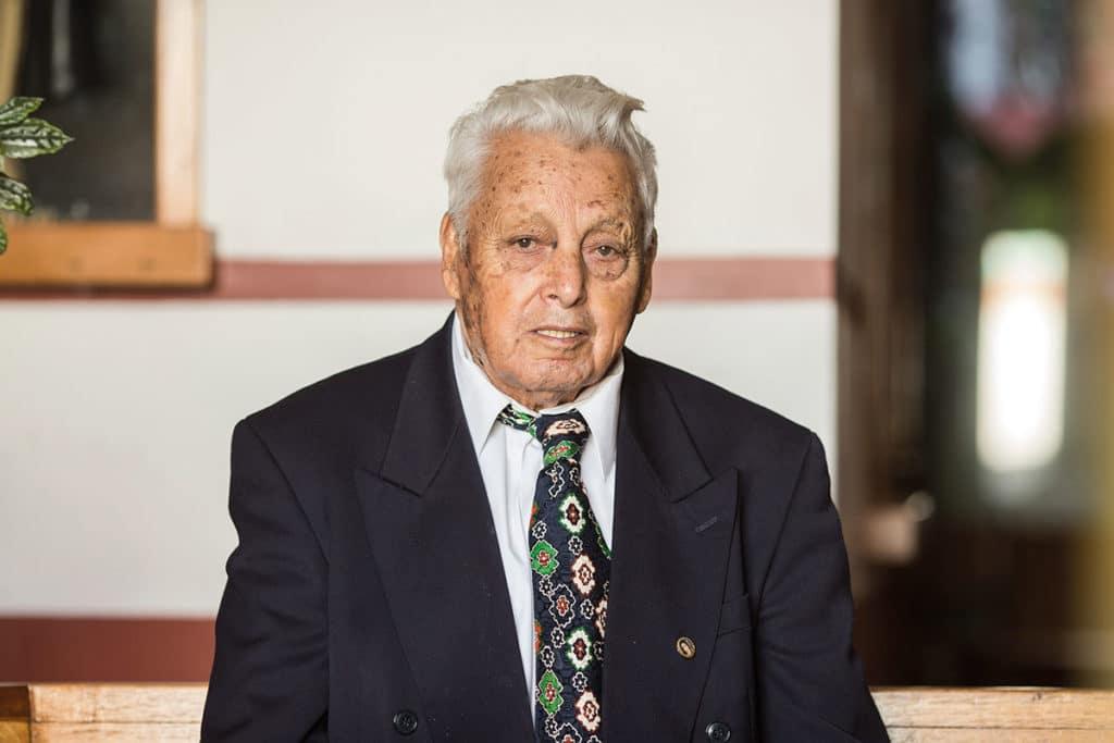 El padre Celerino Yáñez.