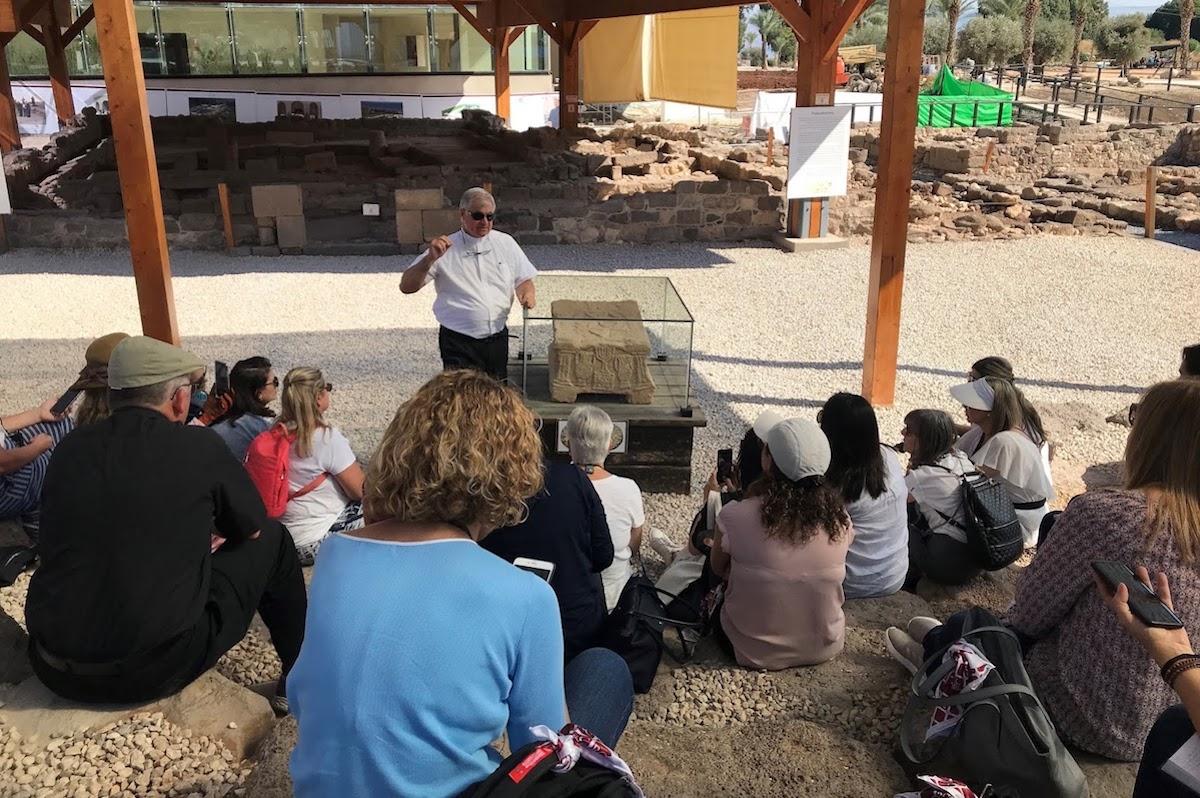 El Centro Magdala acoge a peregrinos de todo el mundo y de cualquier religión.