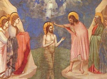 El Bautismo del Señor, festividad con que concluye el Tiempo de Navidad