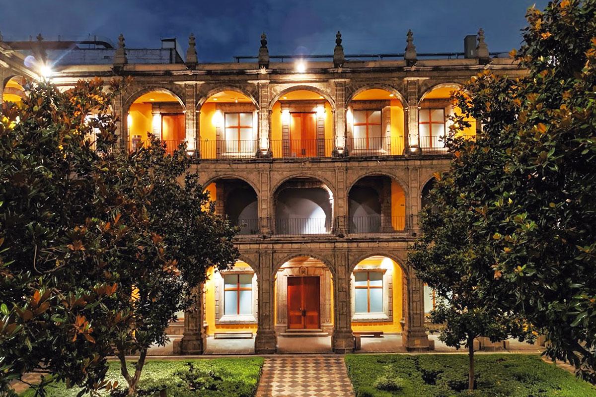 El Colegio de San Ildefonso es una de las principales instituciones culturales del país.