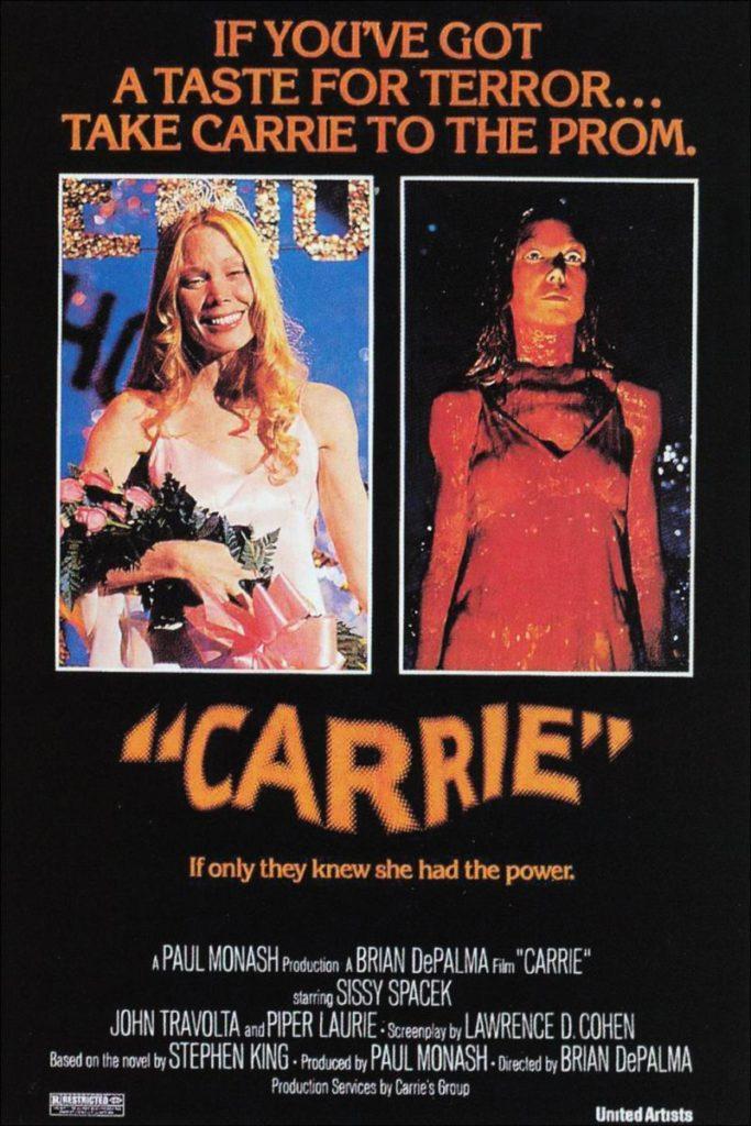 La película Carrie de 1976