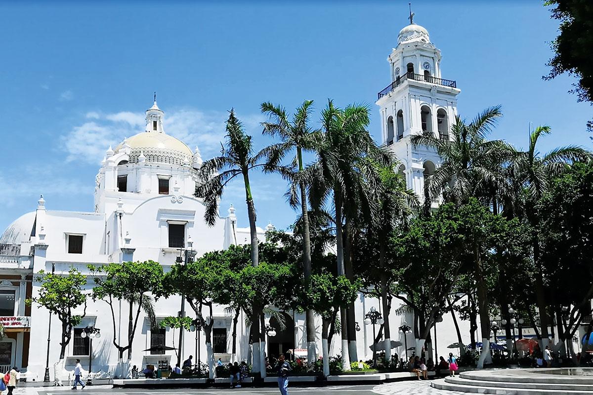 La Catedral de Veracruz.