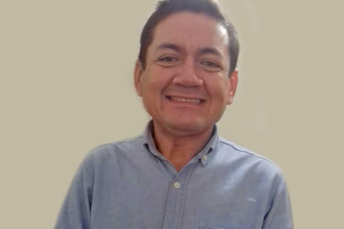 El padre Roly, sacerdote de Tlaxcala. Foto: Cortesía
