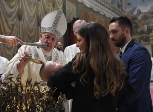 Este año, el Papa Francisco no celebrará bautismos en la Capilla Sixtina