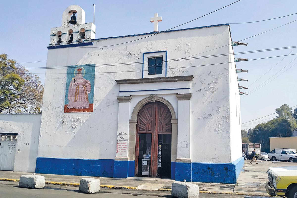 La parroquia en el barrio de la Candelaria de los Patos. Foto: Alejandro García