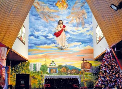 Parroquia del Sagrado Corazón, la iglesia que trabaja con jóvenes