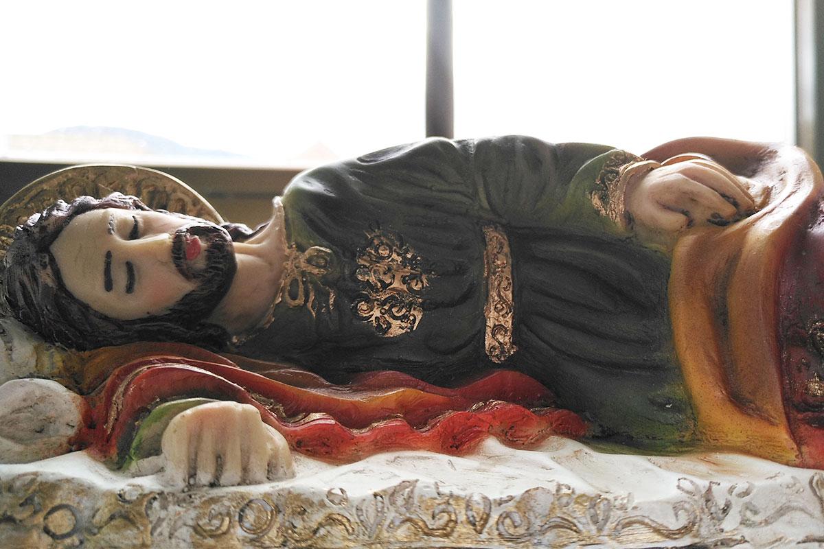 San José dormido. Foto: Cathopic