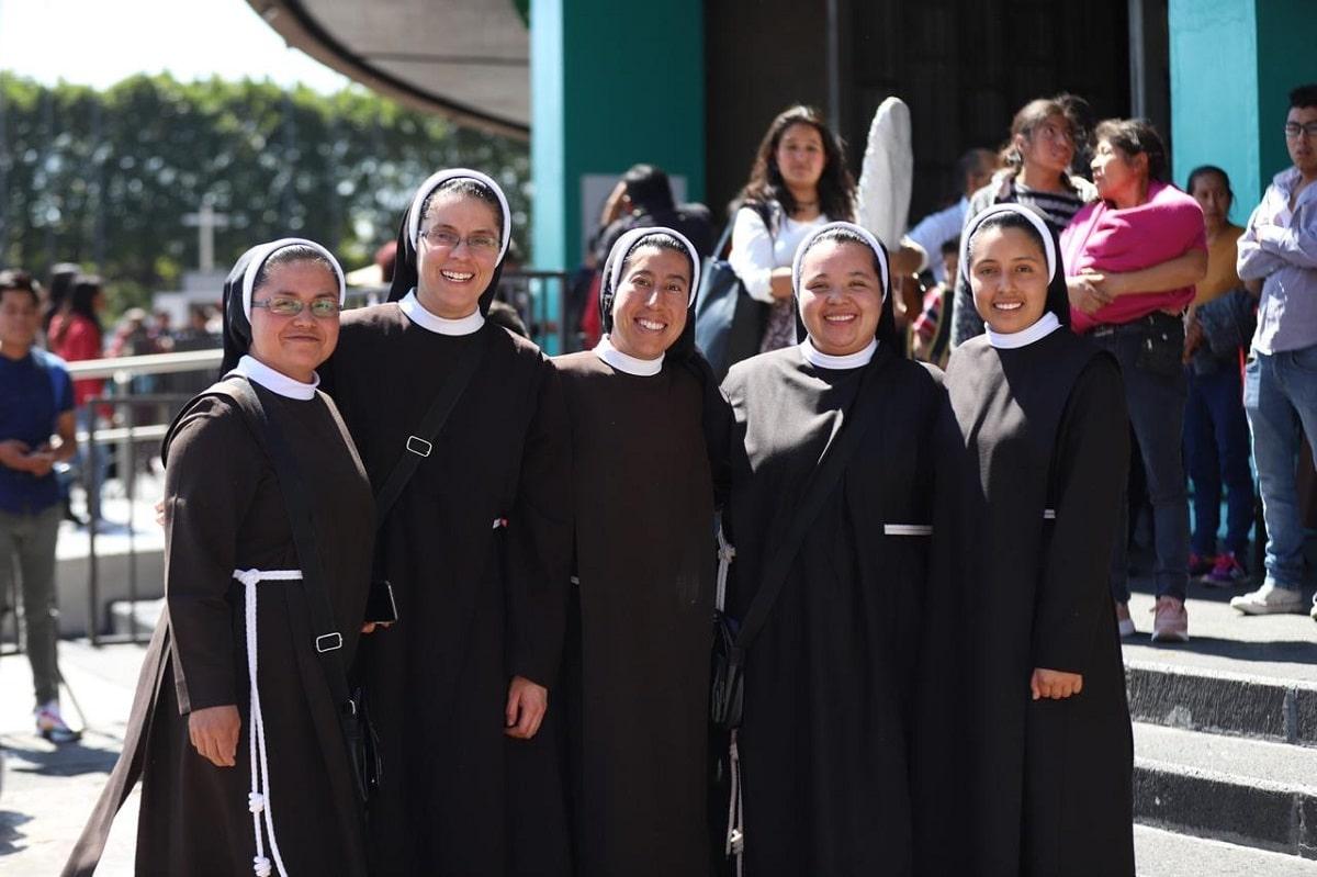Religiosas en la celebración de la Jornada de la Vida Consagrada 2020. Foto: María Langarica/DLF