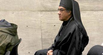 El monje Agustín Martínez Almazán. Foto: Carlos Villa Roiz