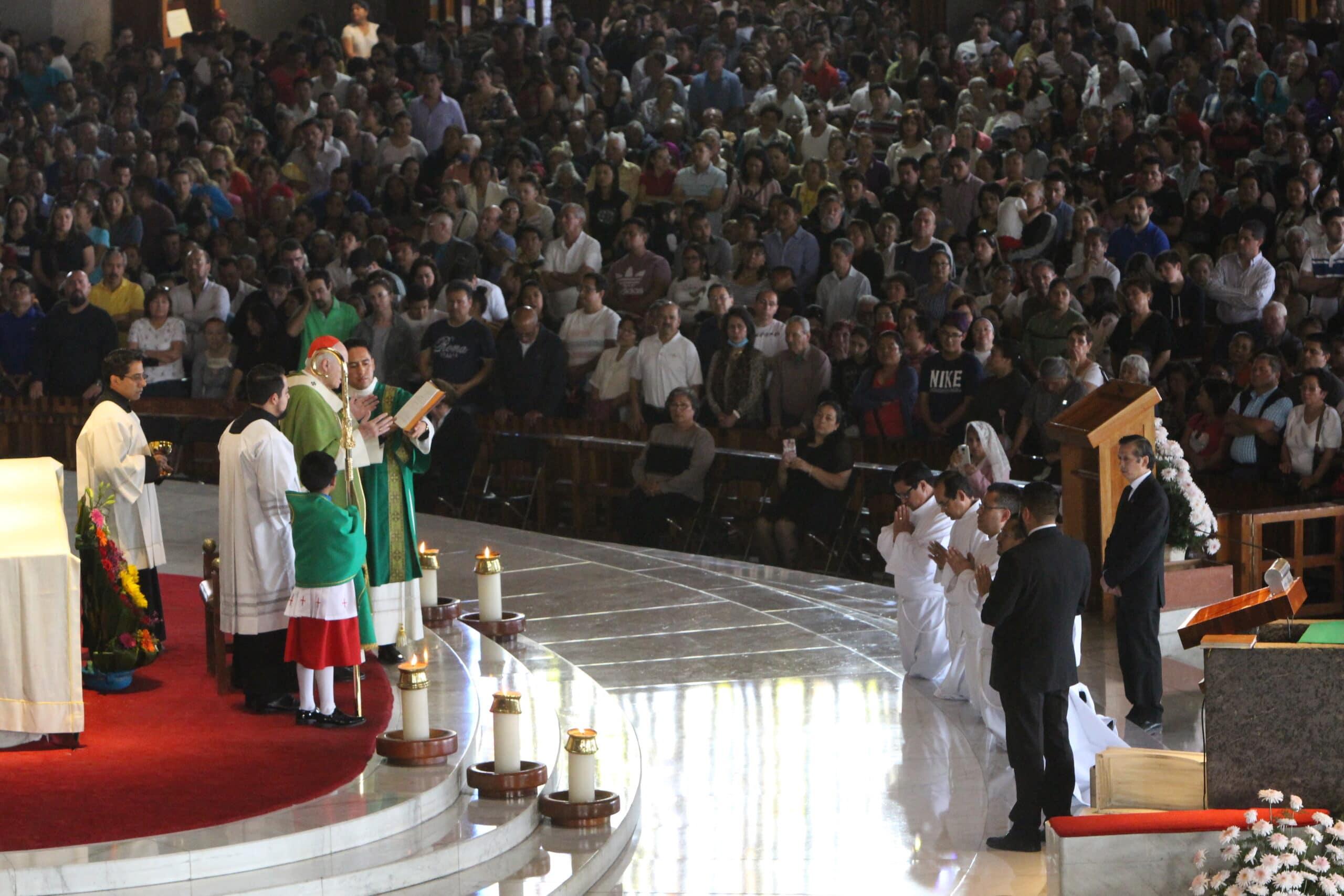 La Misa se llevó a cabo en la Basílica de Guadalupe. Foto: INBG.