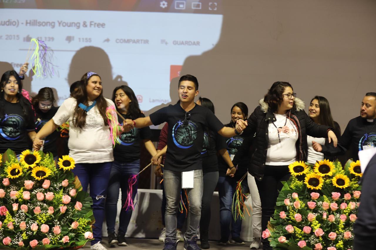 Los participantes de la Asamblea realizaron diversas actividades.