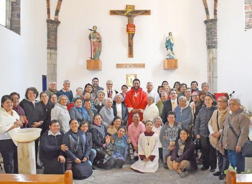 La comunidad de la Parroquia de San Simón es una familia
