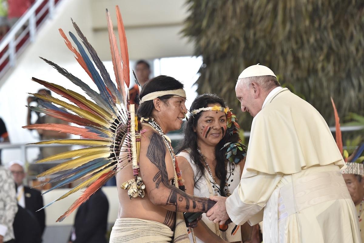 El Papa Francisco durante su viaje apostólico a Perú. Foto: L'Osservatore Romano
