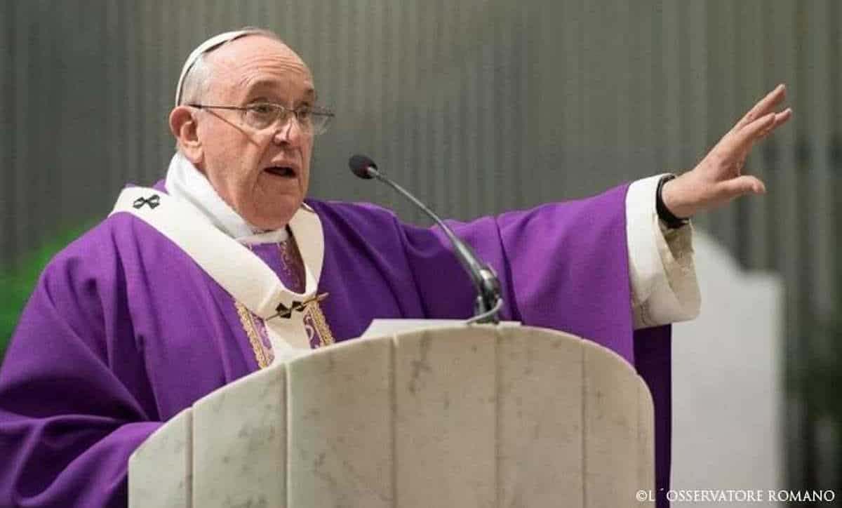El Papa Francisco en tiempo de Cuaresma. Foto: L'Osservatore Romano