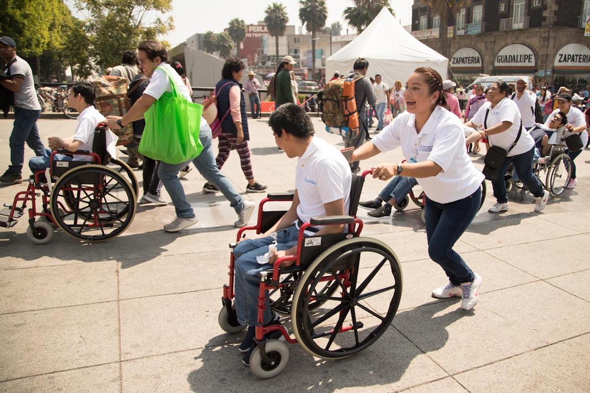 Las personas con discapacidad somos afortunadas.