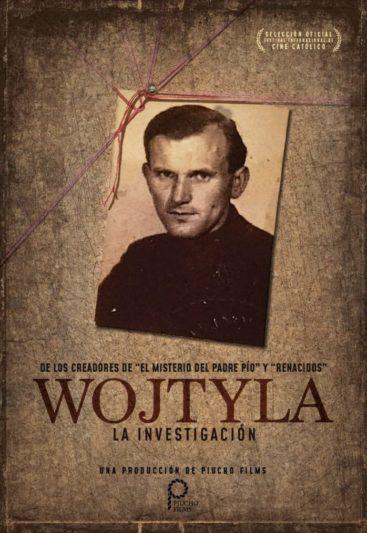 Poster de la película 'Wojtyla. La investigación'.