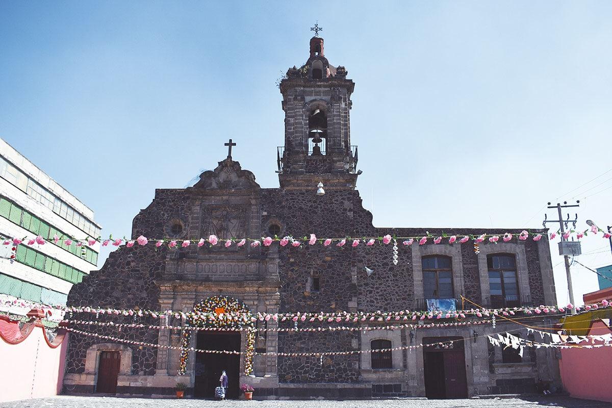 """La Parroquia de Santo Tomás Apóstol """"La Palma"""". Foto Ricardo Sánchez"""
