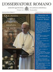 15va Edición semanal en lengua española
