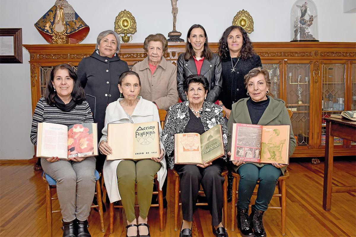 La revista Acción femenina de la UFCM cumple 93 años. Foto Ricardo Sánchez.