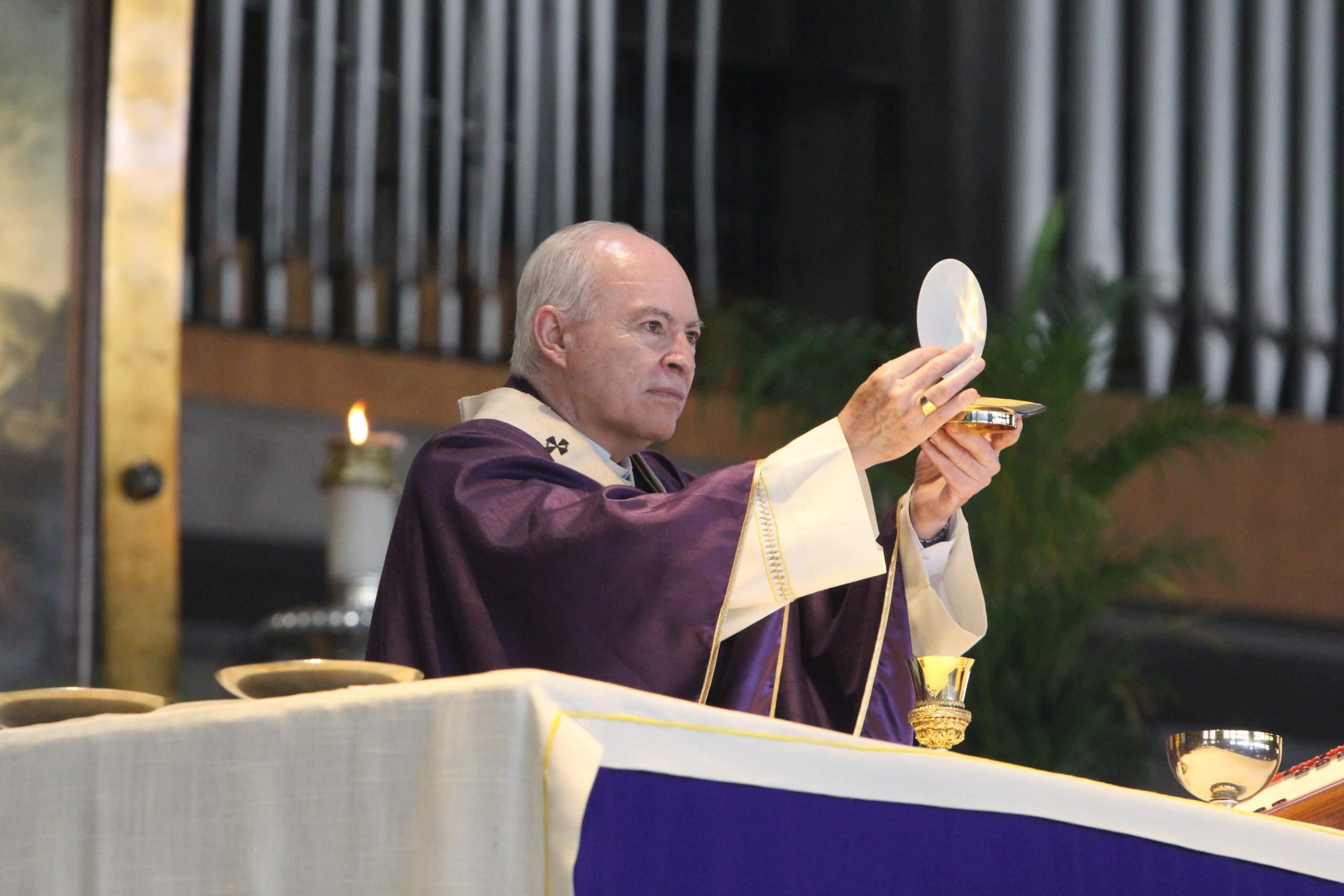 El Arzobispo Primado de México, Carlos Aguiar Retes. Foto: Basílica de Guadalupe/Cortesía.
