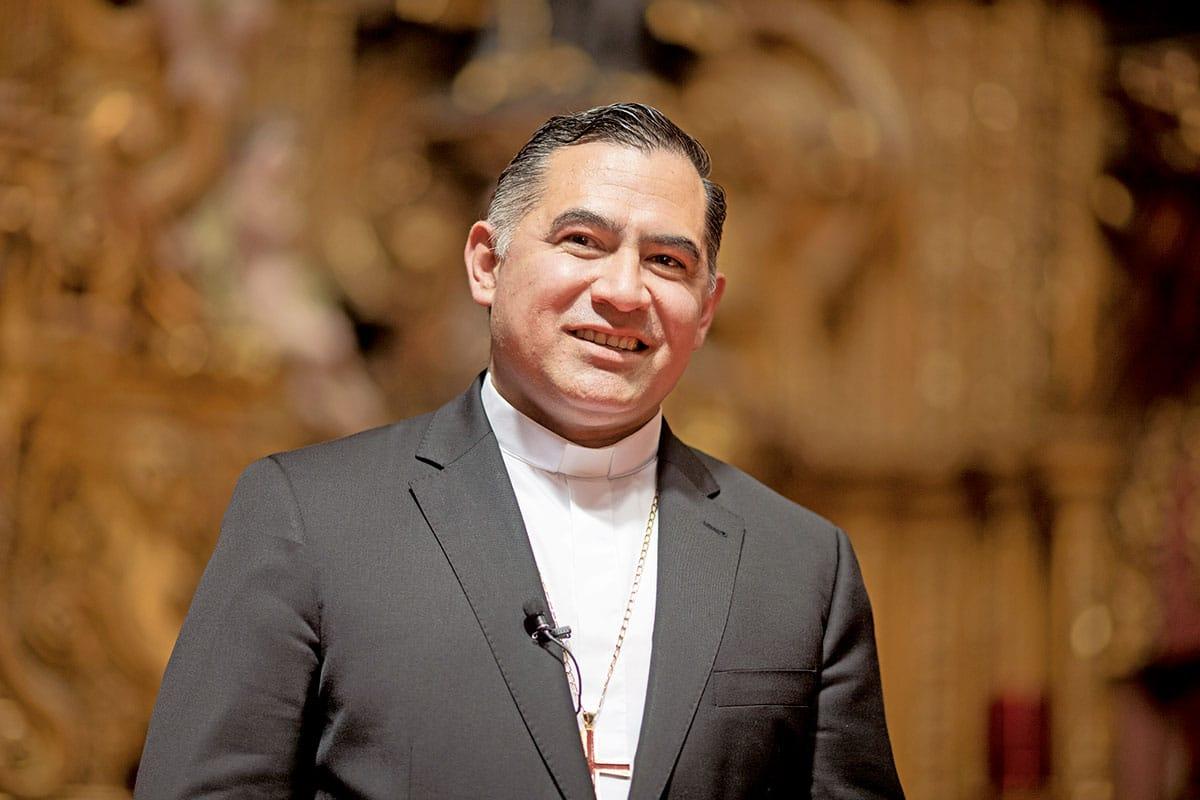 Monseñor Carlos Enrique Samaniego. Foto: María Langarica.