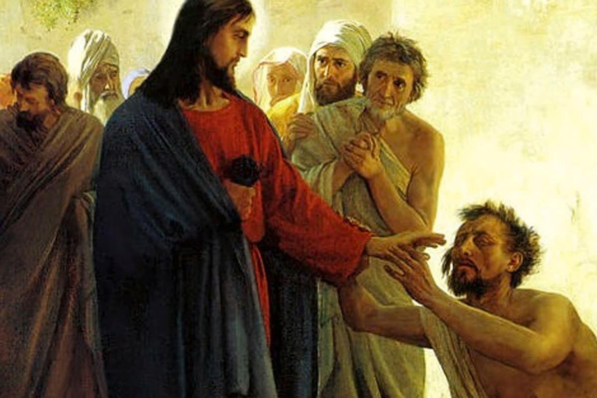 Curación del ciego: todo milagro conlleva obediencia.